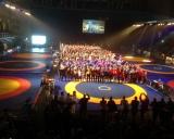 2015 Tallinn Open imtynių turnyro atidarymas