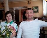 Treneris Aivaras Kaselis ir Danutė Domikaitytė