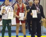 iš kairės: Damianas Matveiko (I vieta), Ernestas Matačius (II vieta), Igoris Kabadaicevas (III vieta)