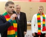 Valdemaras ir Edgaras Venckaičiai ir Kęstutis Šegžda