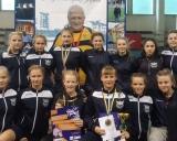 Šiaulių sporto gimnazijos moterų imtynių komanda Lvove