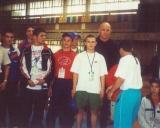 2000 nuotrauka su A.Karelinu po tarptautinio turnyro Maskvoje
