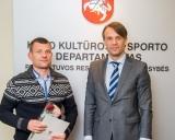 Aivaras Kaselis ir E.Urbanavičius