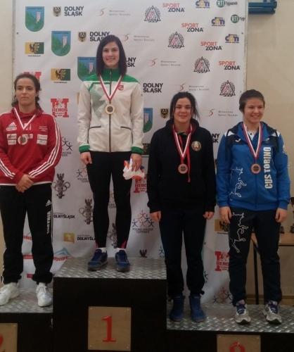 II-asis Lenkijos taurės turnyras: Danutė Domikaitytė - I vieta