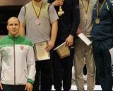 86 kg iš kairės: treneris Mindaugas Ežerskis, Mantas Kairys (II v.), Domantas Pauliuščenko (I v.), Vitalijus Tavgenas ir Aurimas Kuoris (III v.)