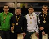 71 kg iš kairės: Titas Kerševičius (II v.), Ramūnas Dagys (I v.), Ričardas Ivanovas ir Darius Gudmonas (III v.)