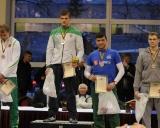 98 kg iš kairės: Romas Fridrikas (II v.), Vilius Laurinaitis (I v.), Donatas Streckis ir Miroslavas Mitiunas (III v.)