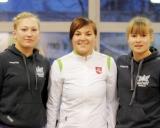 63 kg iš kairės: Indrė Bubelytė (II v.), Giedrė Blekaitytė (I v.), Kornelija Zaicevaitė (III v.)