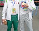 Mantas Sinkevičius ir treneris Saulius Liaugminas