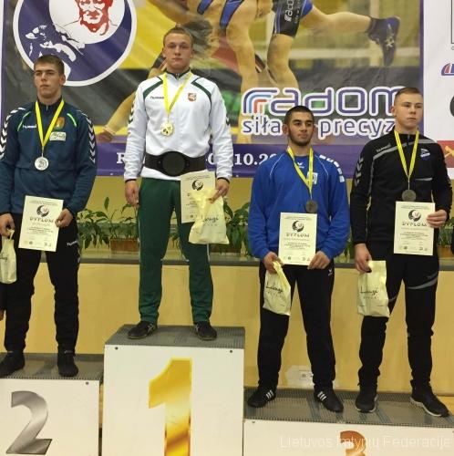 Turnyras Radome: Erikas Čerepokas - I vieta