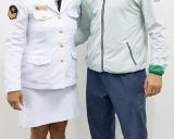 Vilius Laurinaitis su kolege