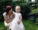 2011 m. žmona Vaida su dukrele Auguste