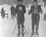 """1963 """"Nemunos"""" draugijos slidinėjimo čempionatas Ignalinoje"""