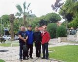 Su draugais iš Kazachstano ir Estijos
