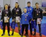 Po apdovanojimų iš kairės: Svajūnas Šakys, Lukas Lipnickas, Paulius Leščauskas, Dominykas Viliušis ir Vadimas Babuškinas