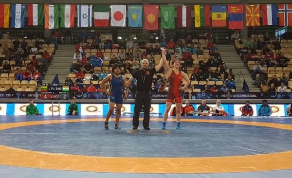 Danutė Domikaitytė - pasaulio U23 čempionato prizininkė!