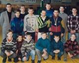 1996 m. Vilniaus komanda su treneriu Eduardu Fainšteinu po Lietuvos čempionato Vilniuje