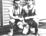 Iš kairės Eduardas Fainšteinas ir Nikolajus Jevsejenko