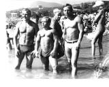 1973 m. Alušta, Ukraina. Iš kairės: Spiridonovas, Chitriakovas, Eduardas Fainšteinas