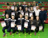 2017 Šiaulių moterų imtynių jaunių komanda Anykščiuose
