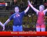 Nugalėjo Kamile Gaučaitė
