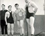Iš kairės: P. Abelkis, K. Bertulis, A. Limantas, J. Gudaitis