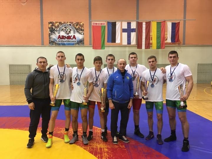 Lietuvos komanda XX-ajame tarptautiniame laisvųjų imtynių turnyre, skirtame Kullo Koiv atminimui