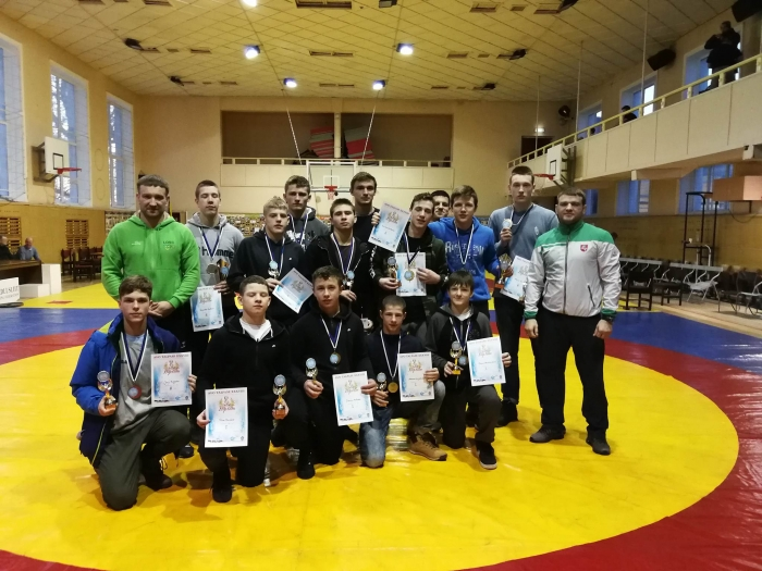 2018 Lietuvos imtynių komanda Avo Talpase turnyre Kochtla Jerveje
