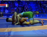 Titas Kerševičius (žalia triko)