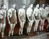 1960-m. SSRS-čempionatas. .Viktor Ivankin - III-vieta (1979). Šalia stovi-B.-Gurevič-pirmasis-TSRSolimpines-imtynių-čempionas1952-m.-ir-olimpines-čempionas1960-m.-A.-Koridze-.