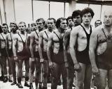1977 m. SSRS profsąjungų čempionatas Klaipėdoje. Iš dešinės: Mačiulis, Volkovas, Evaldas Malelė, Guskovas, ?, Burjanas, Grigorijus Pancerevas, Kęstutis Raškevičius, ?(Klp), ?(Kau).