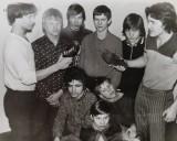 1977 m. LTU čempionatas Panevėžyje. Imtynininkų įšventinimas. Pirmas iš kairės - Evaldas Malelė