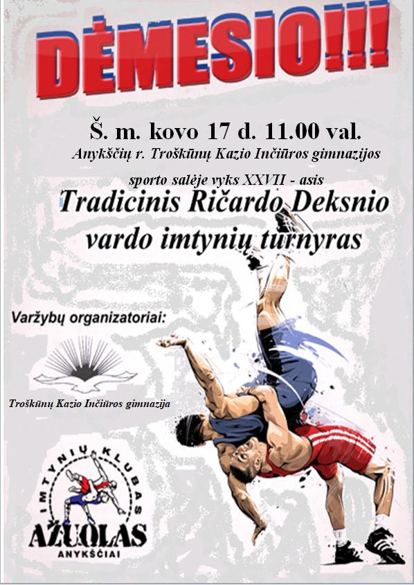 2018 Deksnio TT plakatas