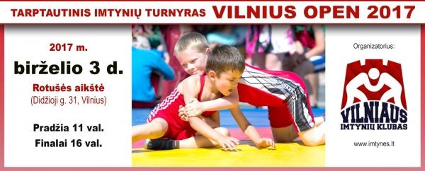 2017 Skelbimas Vilnius Open