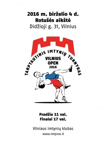 2016 m. Vilnius Open skrajutė