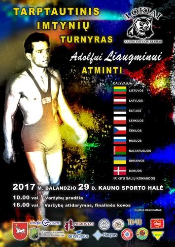 2017 A.Liaugmino turnyras