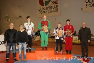 Danutė Domikaitytė iškovojo antrą vietą