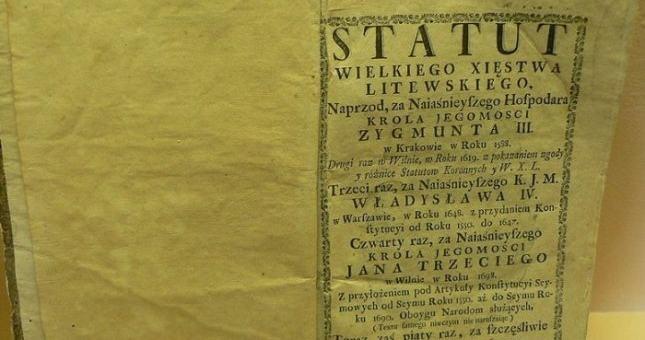 XVII amžiaus Lietuvos statutas