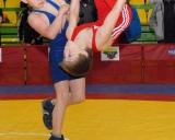 Rokas Čepauskas džiaugiasi pergale prieš Vilių Adomavičių