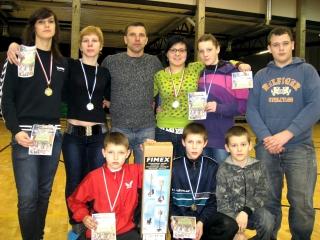 Anykščių komanda Estijoje