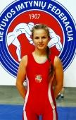 Deimantė Butavičiūtė – prestižinio imtynių turnyro prizininkė