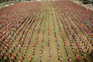 6000 imtynininkų Naadam šventėje Mongolijoje