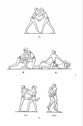 antikiniai piešiniai