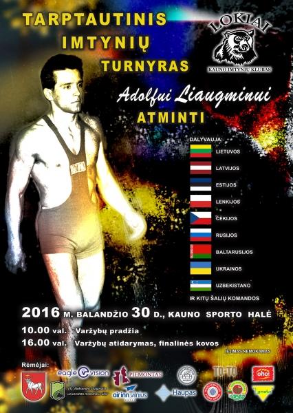2016 A.Liaugminas plakatas