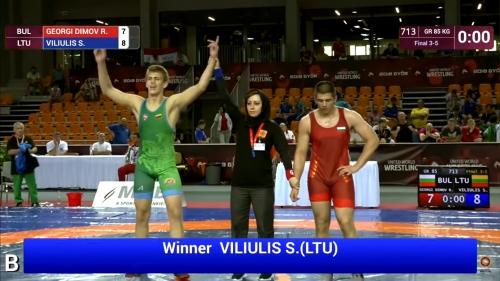 Simonas Viliulis - Georgi Dimov BUL 85 kg