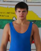 Vilius Laurinaitis – atvirojo Lenkijos imtynių jaunimo čempionato nugalėtojas