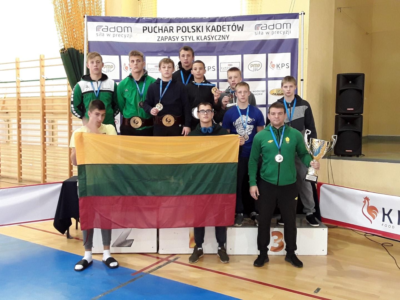 Lietuvos komanda - turnyro nugalėtoja