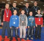 Joniškio imtynių komanda tarptautiniame turnyre Estijoje užėmė antrą vietą