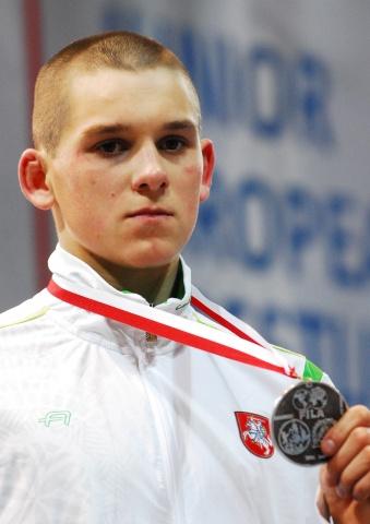 Kristupas Šleiva – Europos imtynių vicečempionas!