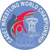 Jaunieji imtynininkai dėl pasaulio kadetų čempionato apdovanojimų kovos Sarajeve